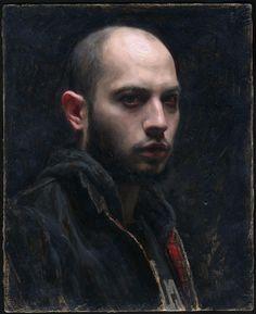 artistandstudio:    Sean Cheetham, Self-Portrait, 2011
