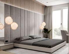 Nightstands, side tables, cabinets or chairs are some of the luxury bedroom furniture tips that you can find. Every detail matters when we are decorating our master bedroom, right? Modern Bedroom, Bedroom Inspirations, Bedroom Interior, Bedroom Design, Bed Design, Master Bedroom Interior, Modern Master Bedroom, Bedroom Decor, Interior Design