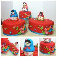 Matryoshka cakes