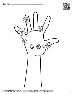 hand washing activity for toddlers and germs coloring pages free printables Abc Coloring Pages, Preschool Coloring Pages, Free Printable Coloring Pages, Coloring Pages For Kids, Coloring Books, Free Printables, Alphabet Coloring, Teaching The Alphabet, Teaching Kids