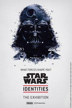 Des Affiches Star Wars réalisées à partir d'objets de la saga