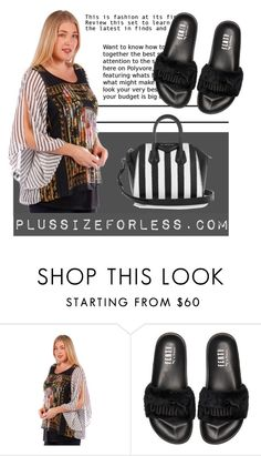 """PLUSSIZEFORLESS"" by plussizeforless ❤ liked on Polyvore featuring Puma and Givenchy"