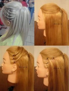 Accentuate Your Ponytail