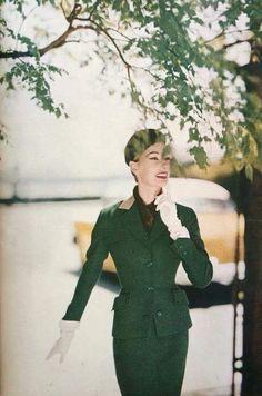Tom Palumbo, Harper's Bazaar September 1955 | vintage fashion magazines