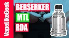 BERSERKER MTL RDA - 2 ΠΟΥ ΔΕΝ ΜΟΥ ΑΡΕΣΑΝ ΚΑΙ 5 ΠΟΥ ΜΟΥ ΑΡΕΣΑΝ ! Η παρουσιαση περιεχει και FULL BUILD ( ΣΤΗΣΙΜΟ) BERSERKER MTL RDA - 2 ΠΟΥ ΔΕΝ ΜΟΥ ΑΡΕΣΑΝ ΚΑΙ 5 ΠΟΥ ΜΟΥ ΑΡΕΣΑΝ ! Το προϊόν για την παρουσιαση ειναι απο https://vapormania.gr/ Το δοκιμασα και σε αυτο το βιντεο λεω την γνωμη μου για αυτον τον ντριπερ ----------------------------------------------------------------------------------------------- Οποιος θελει να παρει το mix shot συνταγη μου Strawmurder πληροφοριες εδω…