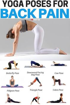 Gym Workout Videos, Easy Workouts, At Home Workouts, Workout Schedule, Fitness Workout For Women, Yoga Fitness, Fitness Women, Lower Back Pain Exercises, Back Pain Stretches