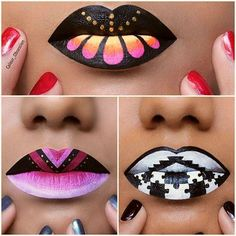 Have you seen the latest lip art? - Miladies.net