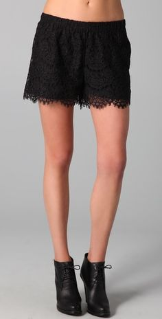 Madewell Lace Shorts