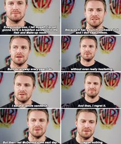 Arrow cast at SDCC 2017 - Stephen Amell