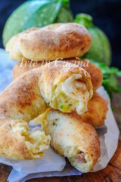 Ciambelle veloci di patate e zucchine al forno vickyart arte in cucina