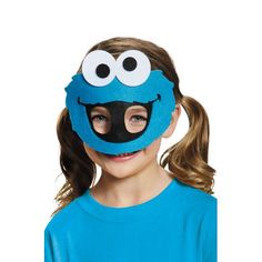 Cookie Monster Felt Child Mask