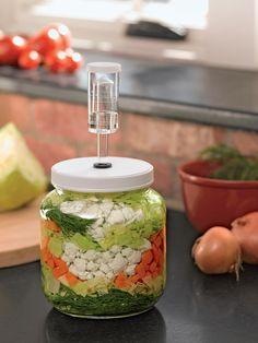 Small Fermentation Kit for Pickles, Kimchi, Sauerkraut , Kombucha