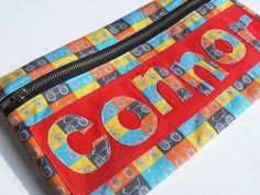 An easy way to create fabric letters for applique