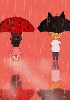 Me enamoro de esos paraguas я