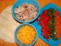 Low Calorie Quesadilla