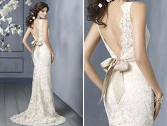 I love this dress! It's so elegant <3