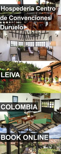 Hotel Hospederia Centro de Convenciones Duruelo in Leiva, Colombia. For more information, photos, reviews and best prices please follow the link. #Colombia #Leiva #travel #vacation #hotel