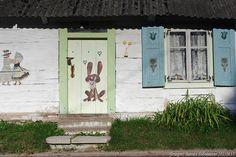 Podlasie wieś chata
