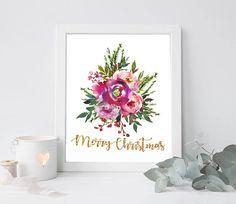 Christmas printable Christmas art Christmas print Christmas