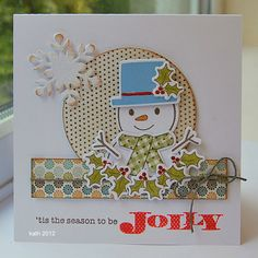snowman by kath in westhill, via Flickr