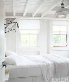 If only my room could be this white and clean!