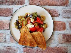 Nyárbúcsúztató saláta sült padlizsánnal - RozéKacsa Hummus, Mexican, Ethnic Recipes, Food, Essen, Meals, Yemek, Mexicans, Eten