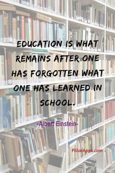 Education is what remains after one has forgotten what one has learned in school_ #alberteinsteinquotesaboutschool #einsteinschoolquote #alberteinsteinonschool #einsteinsayingsabouteducation  #alberteinsteinquotesoneducationsystem #thoughtsofalberteinsteininenglishoneducation #alberteinsteinthoughtsoneducation #famousquotesabouteducationbyalberteinstein #quotesfromalberteinsteinabouteducation #einsteinquoteeducationisnotthelearning #famousquotesofalberteinsteinabouteducation Albert Einstein Thoughts, Albert Einstein Quotes, Hi Quotes, Need Quotes, Nobel Prize In Physics, Philosophy Of Science, Modern Physics, Theoretical Physics, Theory Of Relativity