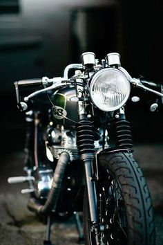 no 66 - cafe racer #motorcycle #motorbike