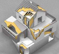 Resultado de imagem para isolamento termico de um sótão