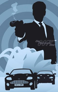 James Bond 007 / Minimalist Design / Series 02 by Rolando Miguel Soberón, via Behance