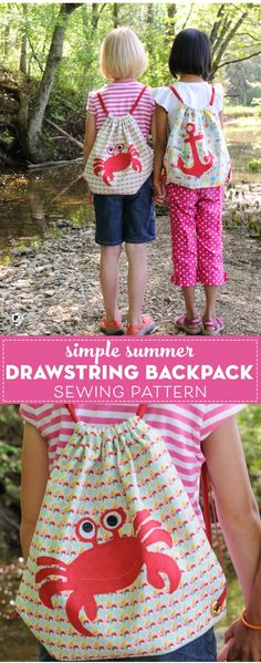 Easy sewing hacks are readily available on our web pages. Have a look and you w. Easy sewing hacks are readily available on our web pages. Have a look and you will not be sorry yo Easy Sewing Projects, Sewing Projects For Beginners, Sewing Hacks, Sewing Tutorials, Sewing Tips, Sewing Ideas, Fun Projects, Backpack Pattern, Diy Couture