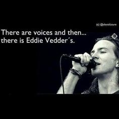 Eddie Vedder e card I Love Music, Music Is Life, Good Music, My Music, Great Bands, Cool Bands, Pearl Jam Eddie Vedder, Chris Cornell, Rock Legends