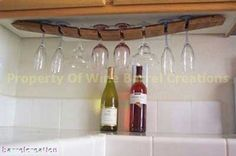 love the use of recycled wine barrel