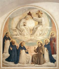 The Coronation of the Virgin, 1440-1441- Fra Angelico