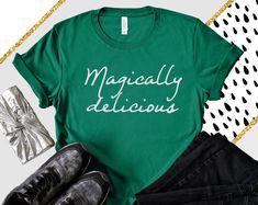 ecf48b15 st patricks day shirt- St. pattys day shirt- funny st patricks day party  shirt- Irish green shirt- drinking t-shirt- magically delicious
