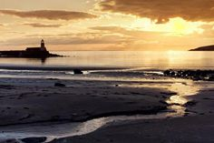Just before sunset at Port Logan on the coast at the Mull of Galloway, South-west Scotland by emperor1959, via Flickr
