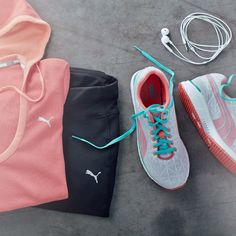 Tackle the workout in Puma.