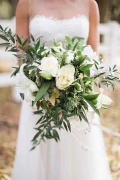 Ethereal, Rustic & Organic Wedding Ideas via TheELD.com