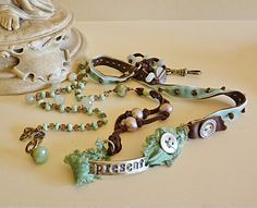 be present necklace/bracelet wrap by ninabagley on Etsy