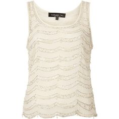 67176011 TOPSHOP Tall Pearl Drop Vest Top Halter Neck, Dream Dress, Spring Summer  Fashion,