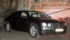 250,000 pound bulletproof Bentley. William and Kate purchased the car after Charlotte was born.