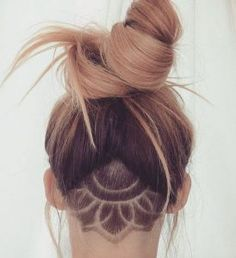 Sunflower undercut via Luli