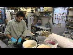 Marmorsäulen aus Gips: Die Scagliola-Technik   euromaxx