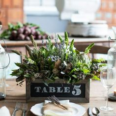 53 Vineyard Wedding Centerpieces To Get Inspired | HappyWedd.com