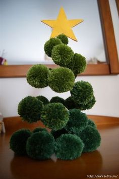 25 Pom Pom Christmas Decorations That Spells Out Love and Joy - Hike n Dip - - Looking for Unique Christmas decoration idea? Here are best Pom Pom Christmas Decorations ideas for you. Try these Christmas decorations & you'll love it. Christmas Crafts For Adults, Unique Christmas Decorations, Little Christmas Trees, Noel Christmas, Christmas Projects, Holiday Crafts, Christmas Wreaths, Christmas Ornaments, Christmas Pom Pom Crafts