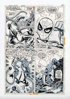 Amazing Spider-Man 113 pg30 by John Romita Sr