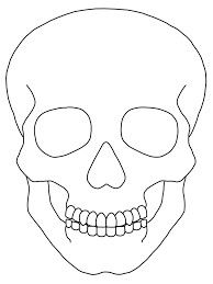 Easy To Draw Skulls How To Draw A Easy Skull Step 8 For Details