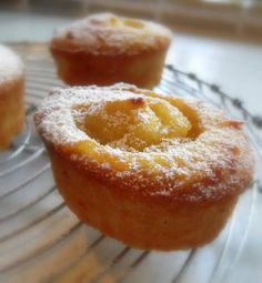 So easy to make >>> The English Kitchen: Lemon Friands (tweak: one cup of sugar)