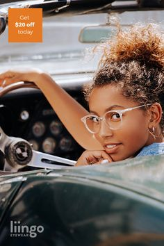 Shop Women's Eyeglasses - Free Prescription Lenses Recherche Internet, Curly Hair Styles, Natural Hair Styles, Fashion Eye Glasses, Black Women Fashion, Womens Fashion, Braided Hairstyles, Casual Hairstyles, Summer Hairstyles