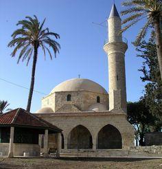 Hala Sultan Tekke-moskee. Larnaca Cyprus